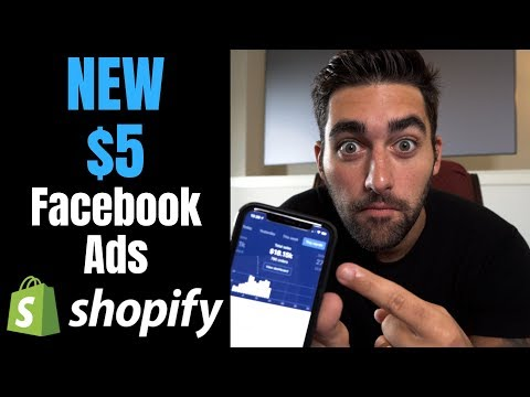 (NEW) $5 Facebook Ads For Testing AND Scaling | Shopify Dropshipping thumbnail