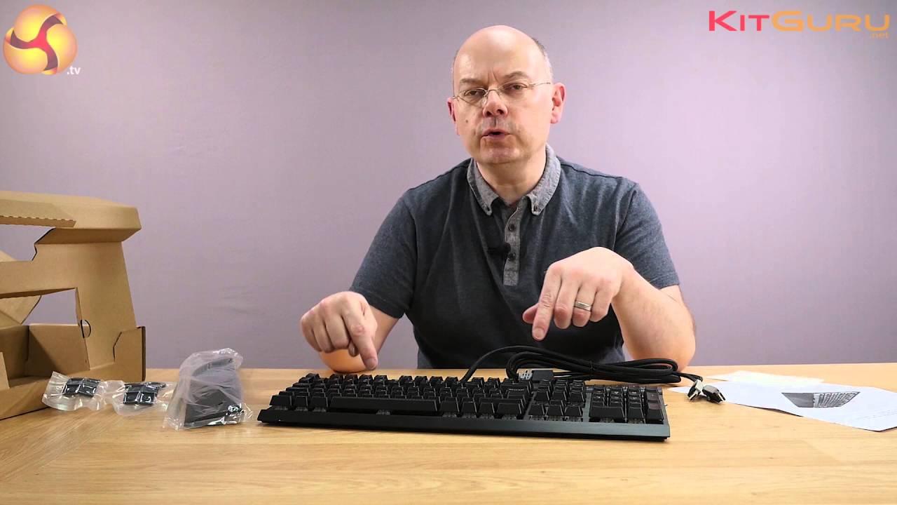 ba712ce8f9d Corsair K70 RAPIDFIRE RGB keyboard Unboxing video - YouTube
