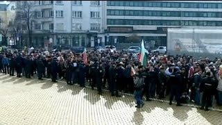 Bulgarians protest over hike in electricity bills