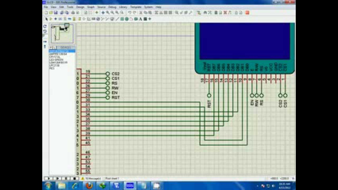 Arm Lpc2138 Interfacing With Graphical Lcd Based On Ks0108