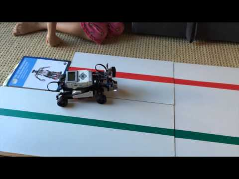 Nikki's science fair project 2015 – simple robotic car