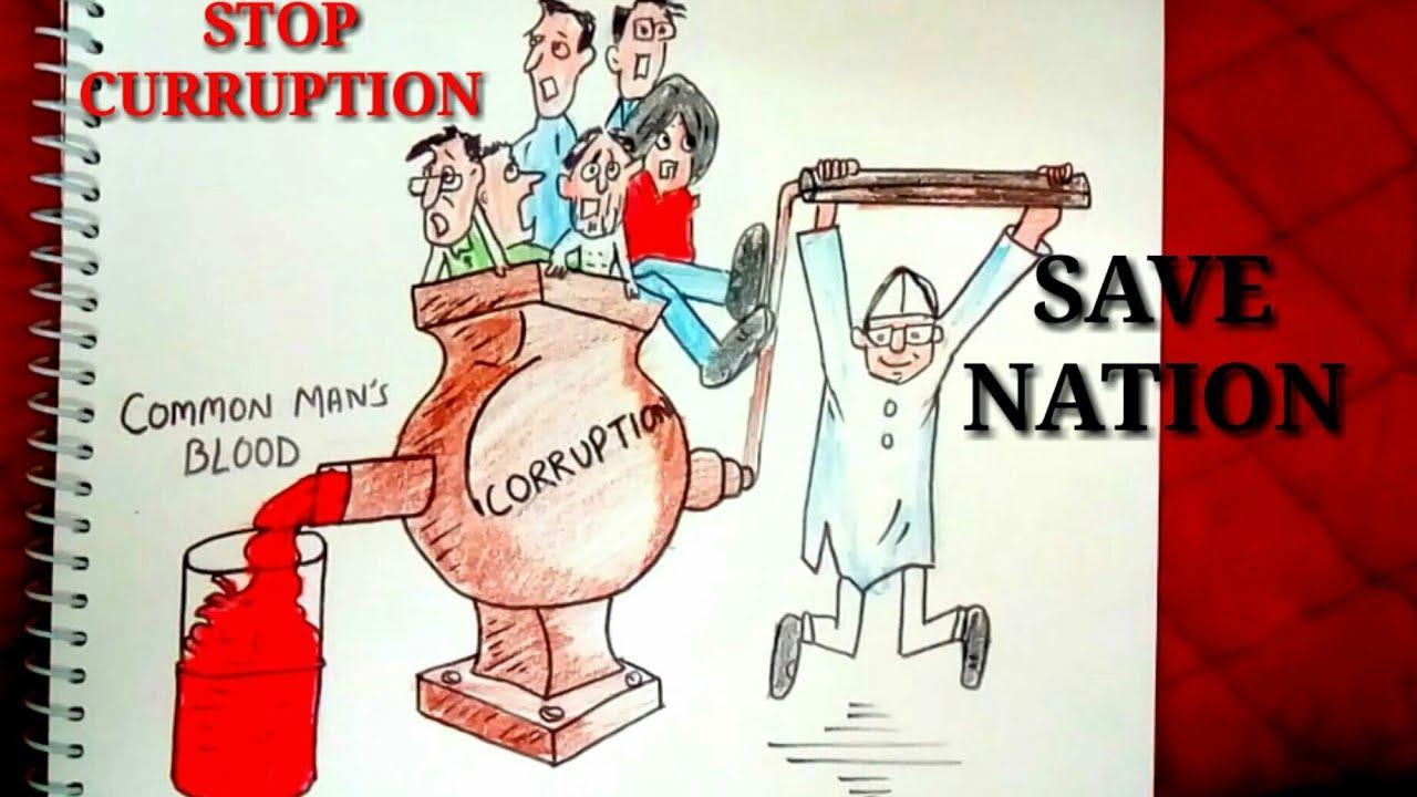 Image result for stop corruption ke