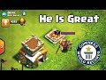HE SURPRISED ME | TH8 IN TITAN LEAGUE WITH LVL 7 BARBARIAN KING | CLASH OF CLANS.