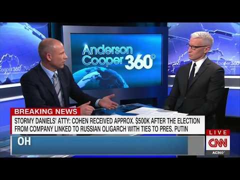 MICHAEL AVENATTI FULL INTERVIEW WITH ANDERSON COOPER (5/8/2018)