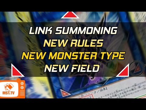 LINK SUMMONING - NEW FIELD - NEW MONSTER TYPE and RULE CHANGES 2017