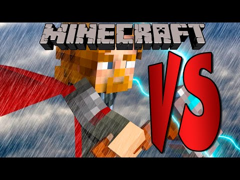 THOR | SUPERHEROES DESAFIO | Minecraft