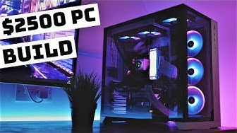 $2500 PC Build Time Lapse - Lian Li PC-O11 Dynamic (2019)