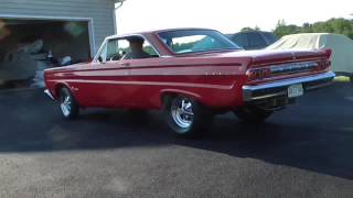 1964 Mercury Cyclone Burnout