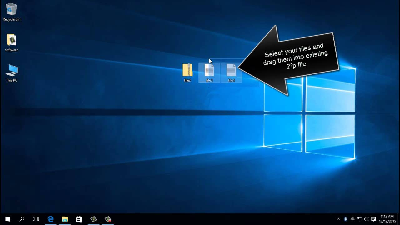 How To Compress zip a File In Windows 10