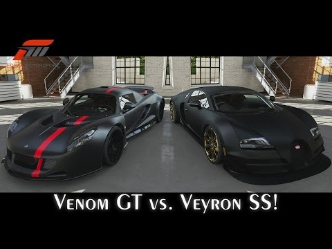 full download forza motorsport 5 hennessey venom gt vs bugatti veyron super sport. Black Bedroom Furniture Sets. Home Design Ideas