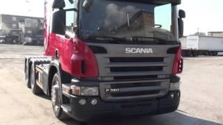Обзор тягача Scania p-380 6х4 2011 г.в.