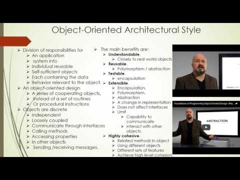 Chapter 3  Movie 6  Software Architecture and Design 22 min Object Oriented Programming  Part 1