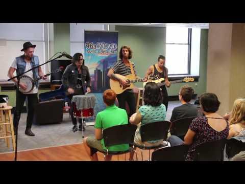 American Authors Live WDVD Studios 7 22 16