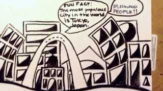 How to Draw a Skyline/ Cityscape. A fun Tutorial from St. Louis, Missouri. :-)
