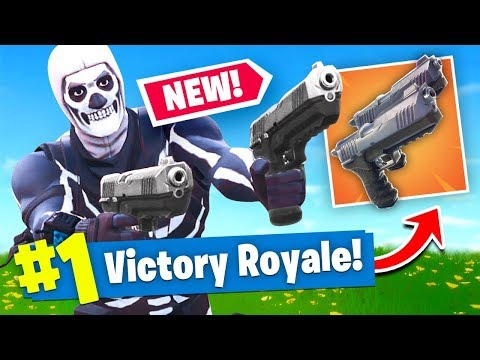 *NEW* DUAL WIELDED PISTOLS Gameplay In Fortnite Battle Royale!