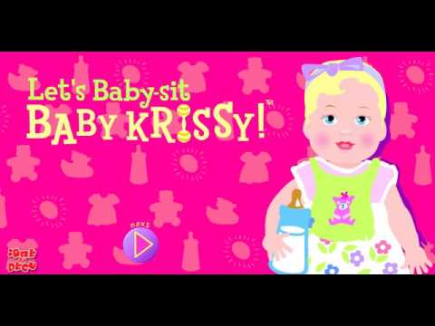 Good Old Barbie Games Baby Sit Baby Krissy + working link to play
