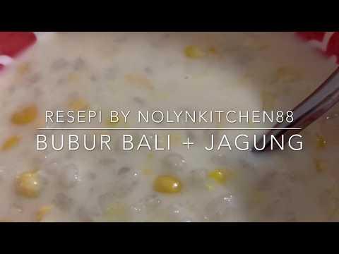 resepi-bubur-bali-dan-jagung