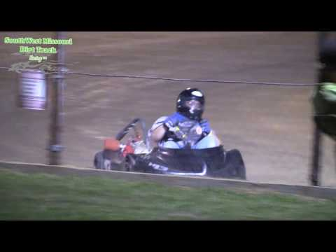 Dallas County Raceway Go Kart Racing Stock Appearing A Features Race August 1, 2017