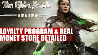 The Elder Scrolls Online Loyalty Program & Real Money Store Explained