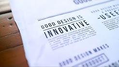 The 10 Principles for Good Design - Dieter Rams | Basics of Design