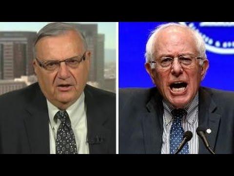 Sheriff Joe Arpaio responds to attacks from Bernie Sanders