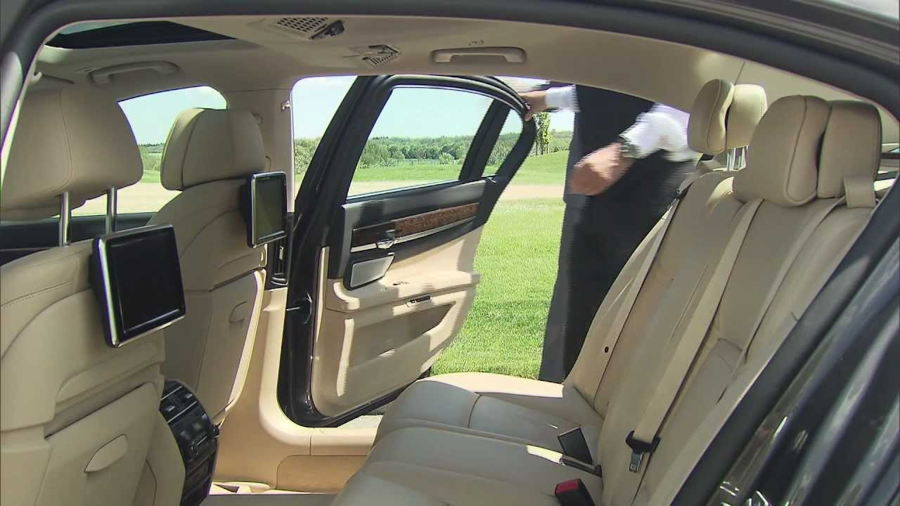 2013 bmw 7 series long interior and running footage for Bmw serie 7 interieur