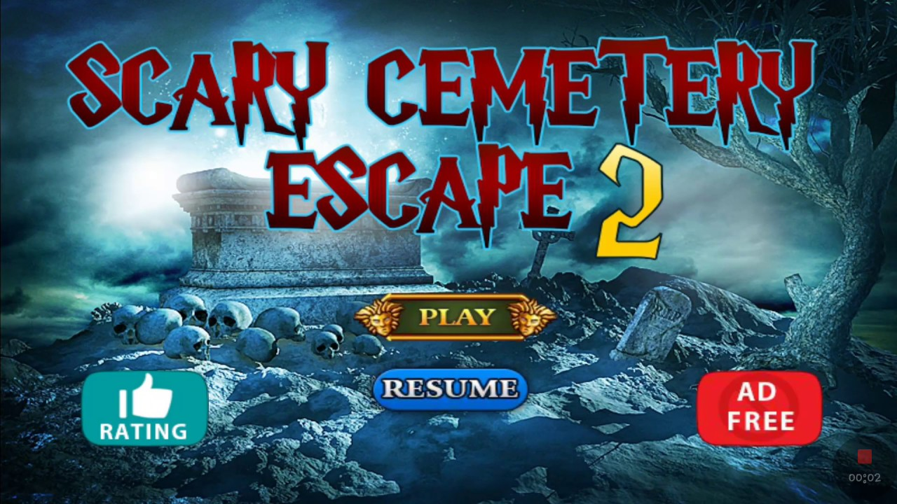 Scary Cemetery Escape2 Youtube