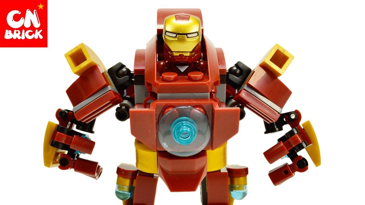 LEGO IRONMAN ROBOT SY624 - YouTube