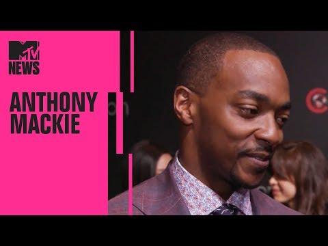 Anthony Mackie on 'Avengers 4', Director Catherine Hardwicke & 'Miss Bala' | CinemaCon | MTV News