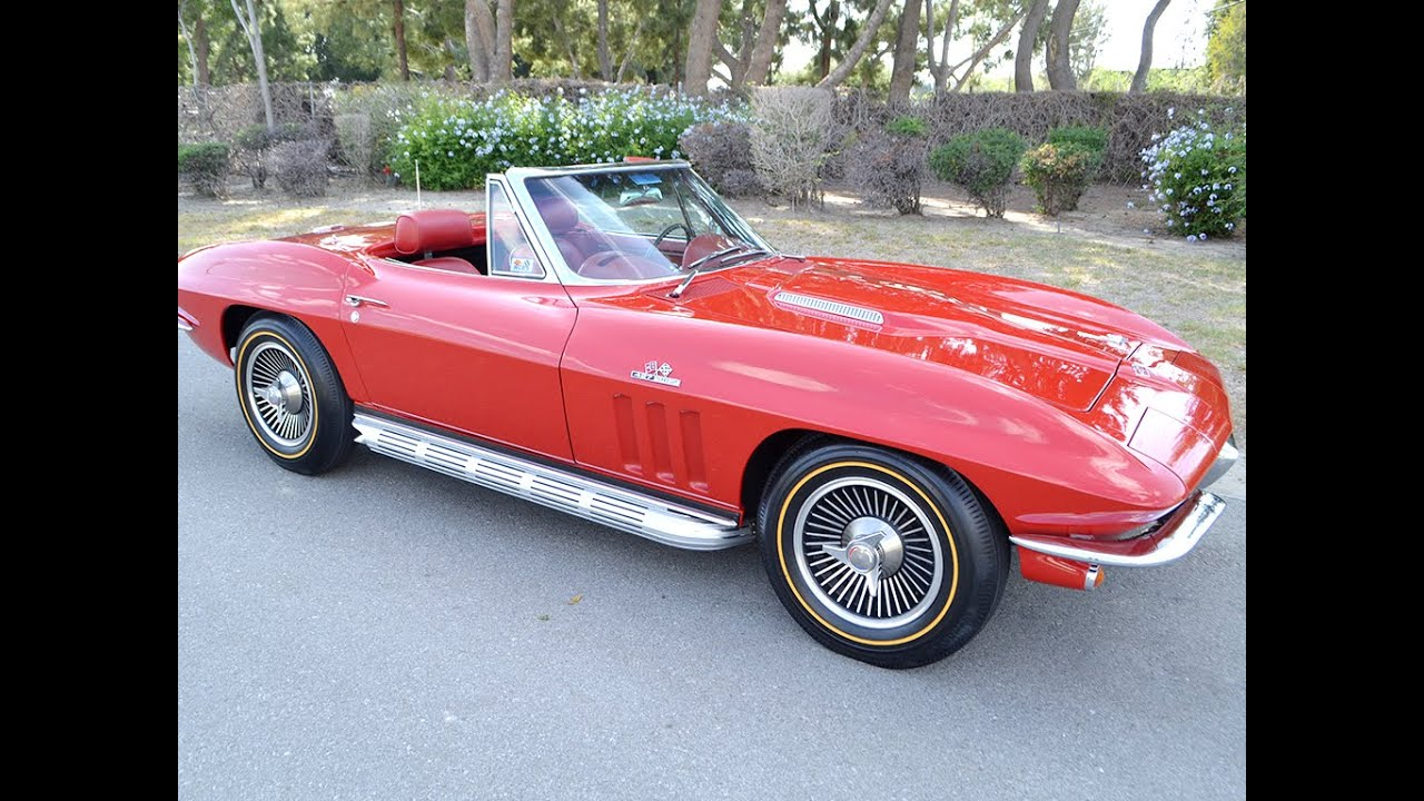 1966 chevrolet corvette 427 425hp convertible for sale by corvette. Cars Review. Best American Auto & Cars Review