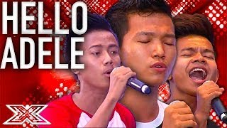 Oxygen Give It Their All At Judges Houses | X Factor Global