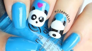 ❤ Easy PANDA Butt Nails ❤