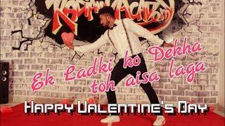 Ek Ladki Ko Dekha Toh Aisa Laga | Valentines day Special | Dance Choreography |Darshan Rawal