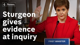 Sturgeon 'never wanted to get Alex Salmond'