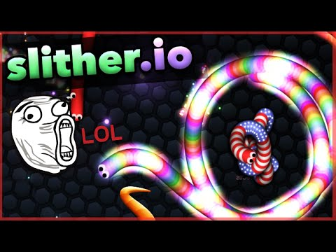 ★SLITHERING INTO NUMBER 1!! - NEW Slither.io - Becoming The Biggest Snake! (Funny Moments)★