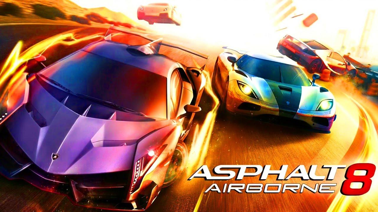 Мультики про машинки для детей Игры Гонки на Спорткарах #2 Asphalt 8 Airborne