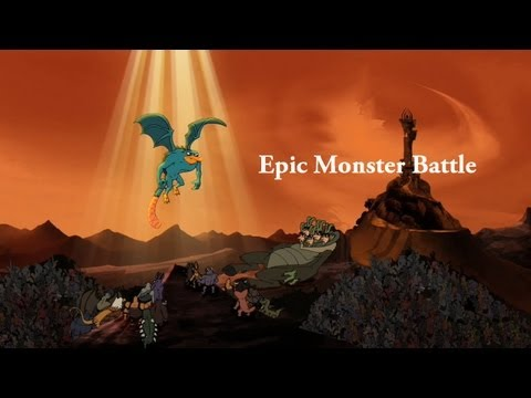 Phineas and Ferb - Epic Monster Battle