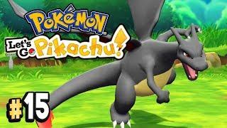 Pokemon Let's Go Pikachu Part 15 SHINY POKEMON & MELTAN @ GO PARK Walkthrough Gameplay