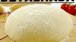 RECEITA DE MASSA PIZZA  - PIZZA FACIL - RECEITA DE PIZZA FACIL - MASSA DE PIZZA FACIL