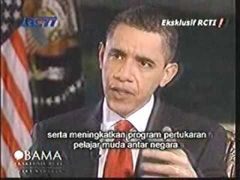 Wawancara Eksklusif RCTI dengan Barack Obama [Part 3]
