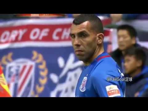 The Best Of Chinese Super League Tevez, Witsel, Cannavaro ● HD ● 2017