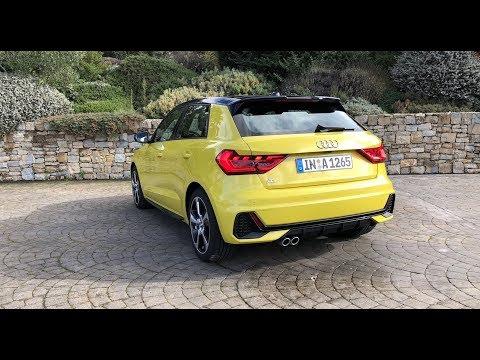 Audi A1 40 TFSI S tronic (GB): Sound / Beschleunigung 0 - 130 km/h - Autophorie