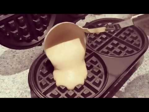 How To Make The Best Belgian Waffle By Richard Bergendi Double Waffle Maker