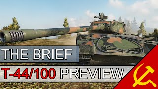 the brief t 44 100 preview is it worth it world of tanks