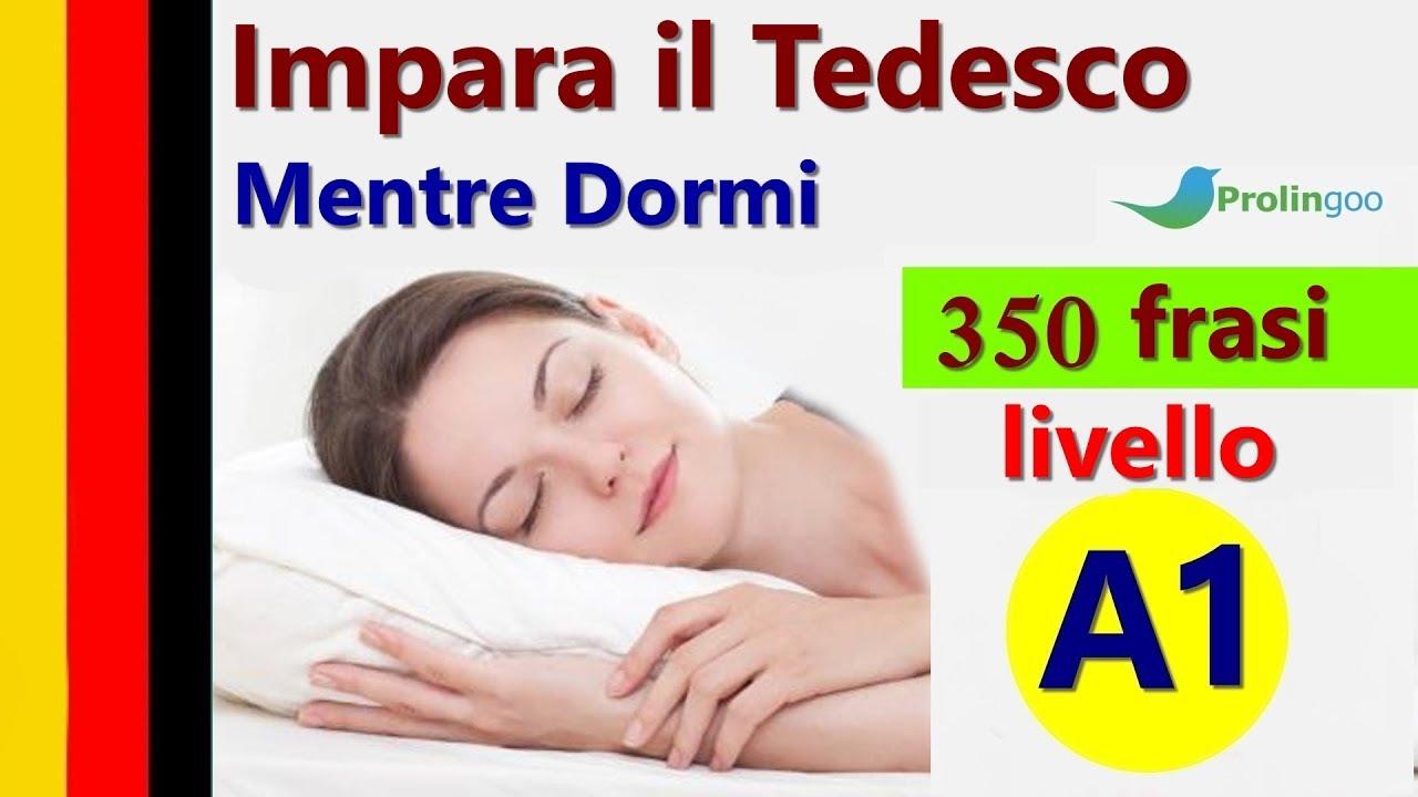 Impara Il Tedesco Mentre Dormi Frasi E Parole Più Importanti Del Tedesco Prolingoo Italian