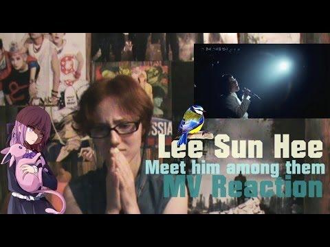 lee sun hee meet him among them korean lyrics