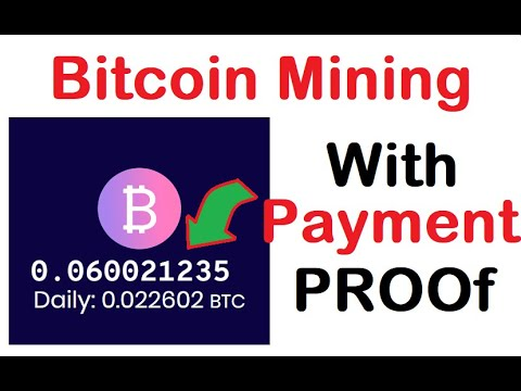 DONT MISS !!!! 100% Real FREE BITCOIN Cloud Mining Site + Payment Proof _Earn Free BItcoin Daily