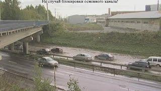Мутный потоп на Шефской. Водоканал раскопал газон