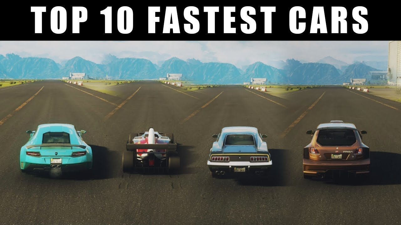 Just Cause 4 Top 10 Fastest Cars Youtube