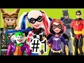 #1 Arlequina Harley Quinn DC Super Hero Girls Coringa Loki  Batman  Supergirl brinquedos bonecos